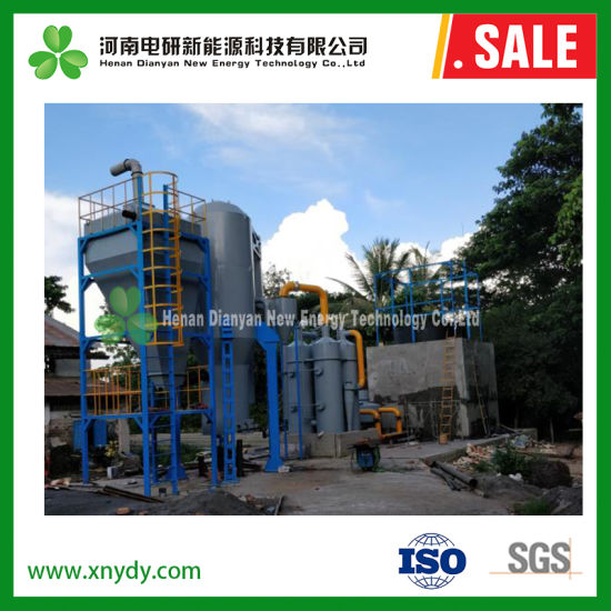 China 10MW Waste Biomass Gasification Power Plant Rice Husk