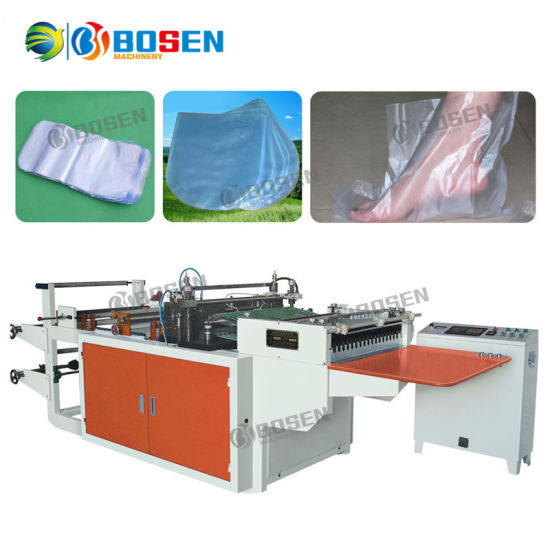 Fully Automatic High Speed PVC Shrinkable Arc Shape Sealing Cutting Round Type Plastic Bag Making Machine