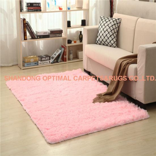 China Sofa Mat Floor Mats PV Fleece Big Carpet - China Shaggy Carpet ...