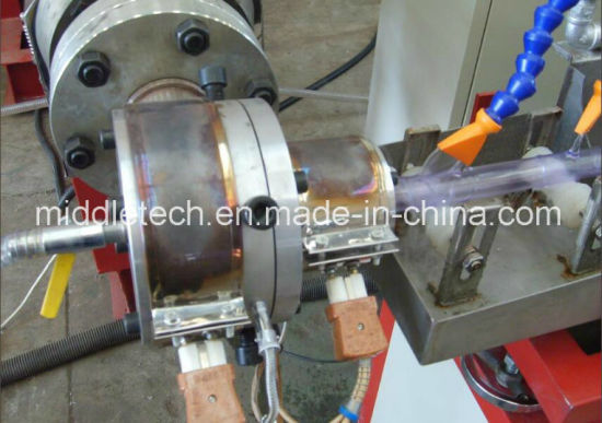 Soft PVC/SPVC Fiber Reinforced Pipe Extrusion Line pictures & photos