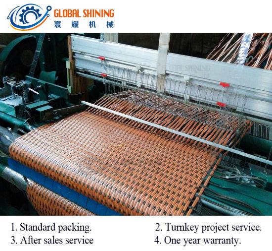 Global Shining Plastic Pipe Flat Mat Processing Machine