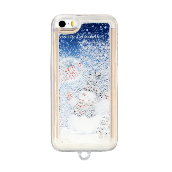 wholesale christmas gifts custom snowing phone case for iphone 6s plus - Wholesale Christmas Gifts