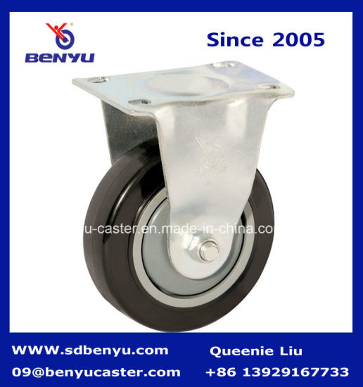 Inexpensive PVC Fixed Caster Wheel in Foshan