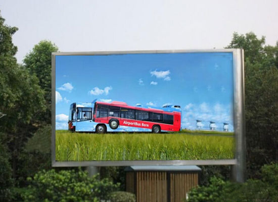 4ftx8FT/5ftx10FT/6ftx12FT Outdoor Advertising Waterproof P6/P8/P10 LED Display/Screen/Sign
