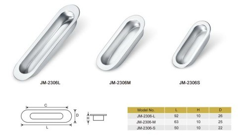 Stainless Steel Concealed Furniture or Cabinet Handle, Door Handle pictures & photos