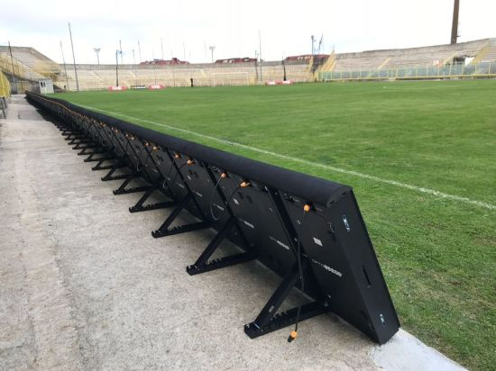 P10 Outdoor Protection Perimeter LED Display for Sports Soccer Field