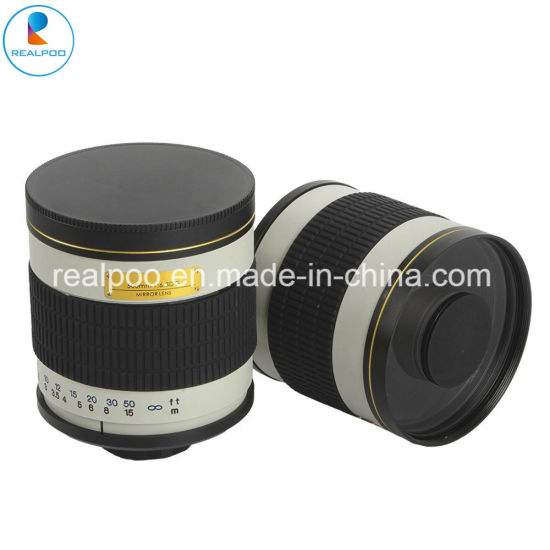 500mm F/6.3 Telephoto Mirror Lens with T Mount for Digical Camera