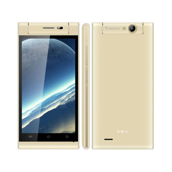 Mtk6572 Chip 5.0 Inch Mobile Phone with Rotating Camera pictures & photos