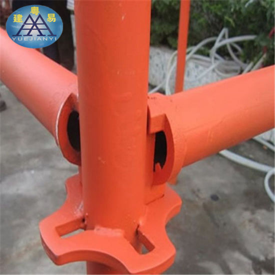 Foshan Manufacturer Quicklock Scaffolding System Steel Cat Ladders pictures & photos