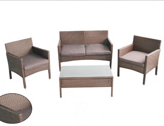 New Plastic Resin Outdoor Rattan Furniture