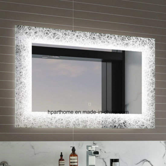 Backlit Mirror Bathroom