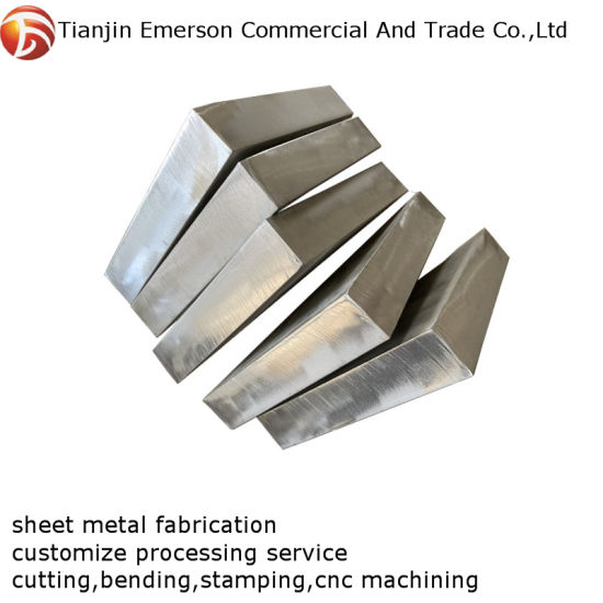 Custom Stamping Part Service Stainless Steel Sheet Metal Fabrication