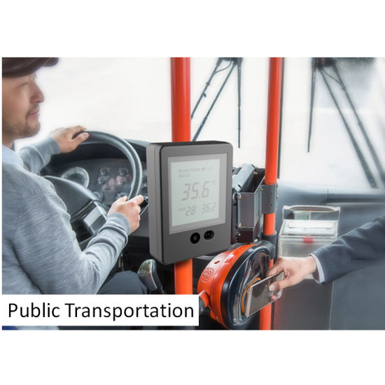 Automatic Non Touch Infrared Thermometer for Public transportation