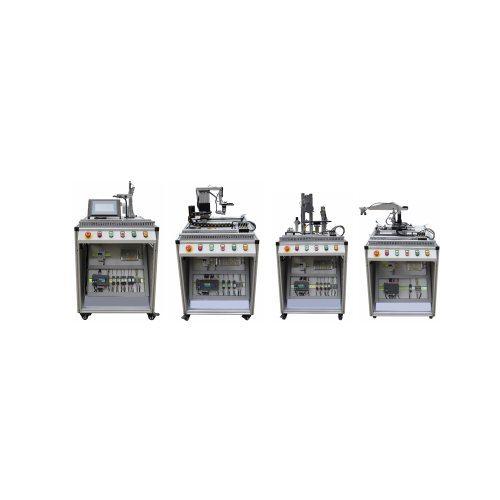 Minrry Industrial Mechatronic System with Seimens S7-1500 PLC Vocational Training Equipment Mechatronics Training Equipment