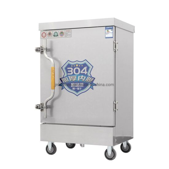 Soup Stew Heating Machine Gas/ Electric Rice Steaming Food Cookers Machine Steamer