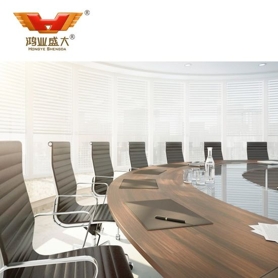 Inexpensive Meeting Room Use Oak Grain Office Furniture