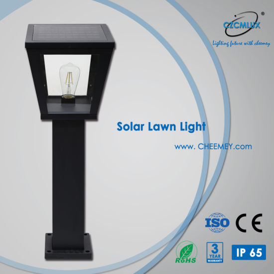 3-5 Years Warranty Solar Garden Light with LED Bulb for Projects