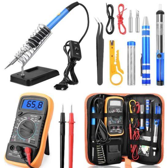 Electric Soldering Iron Multimeter Set Soldering Iron Kit 220V110V60W