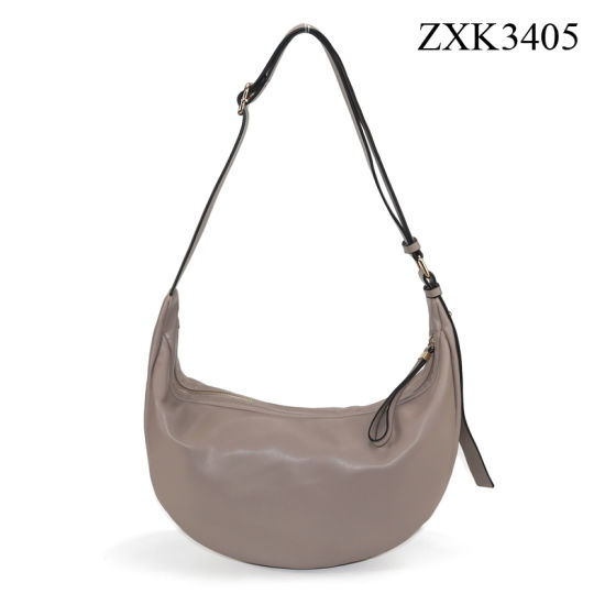 Simple Shoulder Bag Woman Hobo Bag Lady Crossing PU Handbag