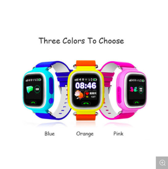 Q90 GPS SIM Card Alarm Clock WiFi Smart Watch for Kids Phone Gift pictures & photos