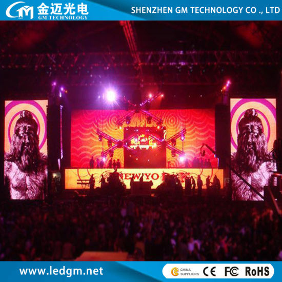 Indoor Rental P4.81 Die Cast Aluminum Stage LED Video Wall