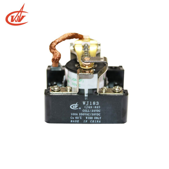 100A Good Price Power Relay Jqx-62 with Ce UL Certified