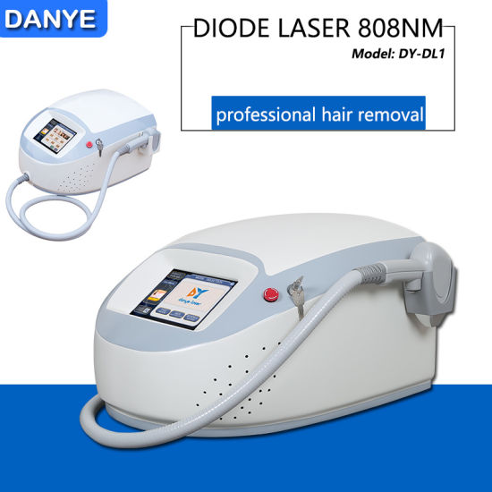 China Danye 2019 Best Portable 808 Diode Laser Hair Removal