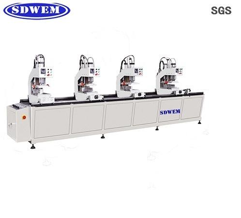 Four-Head PVC Welding Machine for UPVC Window Machine