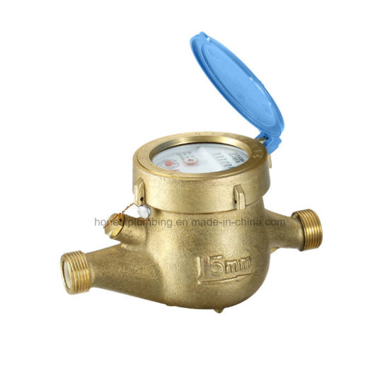 Brass Multi Jet Water Meter 15-40mm