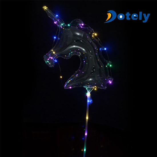 LED Luminous Balloon Sales China Birthday Party Items LED Bobo Balloons pictures & photos