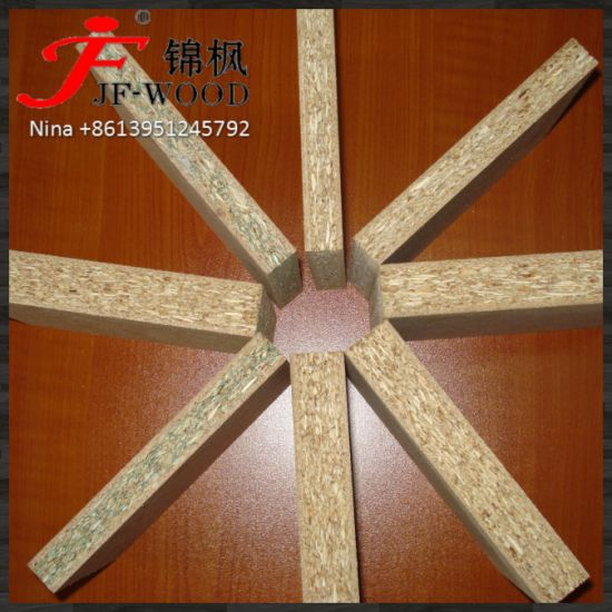 White Melamine MDF /Particle Board /Chipboard ISO9001: 2008 E2/E1 Furniture Grade 1220*2440 Poplar Core Light Colour
