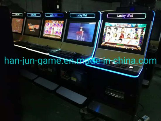 Real New Aristocrat Slot Video Game Machine Cabinet for Sale Cheap