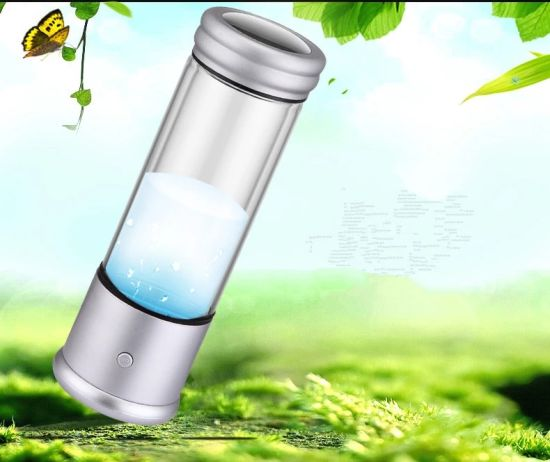 350ml Intelligent Portable Hydrogen Water Bottle Electrolysis Hydrogen Generator pictures & photos