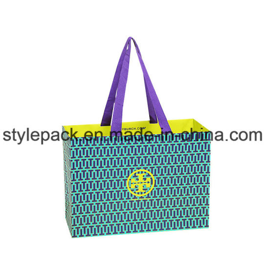 Advertising Gift Bags/Custom Shopping Garment Color Bag/Wholesale Folding Bags