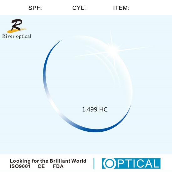 1.499 Hc Resin Eyeglass Lenses