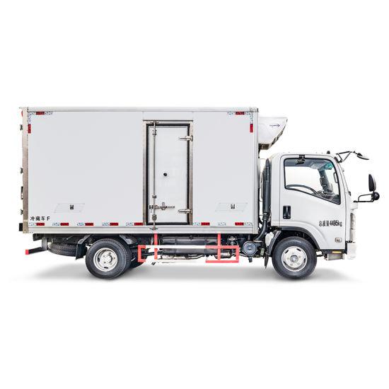 Isuzu 3 Ton 15 Cbm Refrigerated Truck with Thermo King Refrigeration Unit