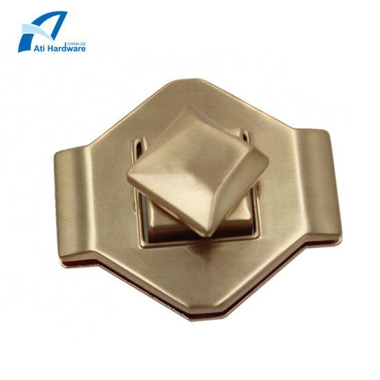 Individual Style Metal Handbag Twist Lock Decorative Accessories for Fashion Handbags