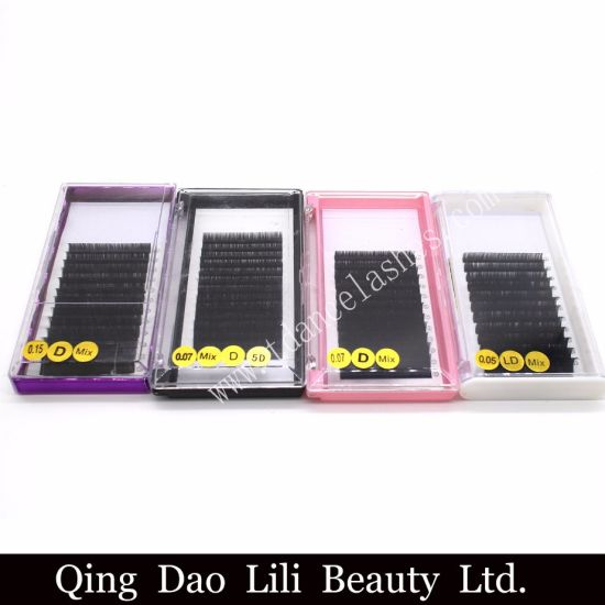 9cd54d15578 Premade Volume Fans Colored Individual Eyelash Extensions pictures & photos