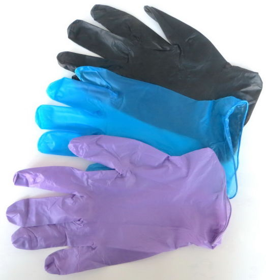 Disposable Vinyl Nitrile PE PVC Latex Free Gloves for Food Service