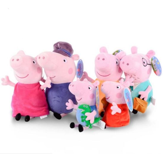 Plush Toys Christmas George Paige Pink Pig Plush Toys Doll pictures & photos