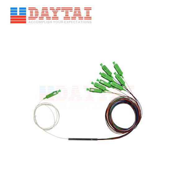 Mini Type Optical Fiber 1*8 PLC Splitter