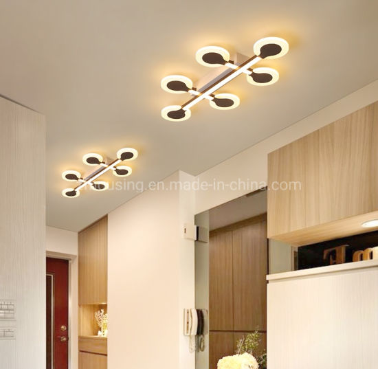 China Modern Design Acrylic Led Ceiling Lighting Lamp For Hallway Lobby Entryway Zf Cl 027 China Led Led Light