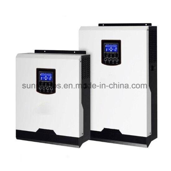 5kw 48VDC MPPT 80A High Frequency Transformerless Hybrid Solar Inverter