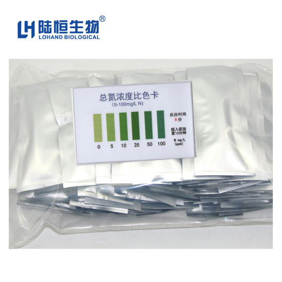 New Product Total Nitrogen Colorimetric Tube