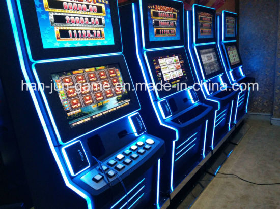 Touch Screen Table Gambling Electronic Video Game Machine