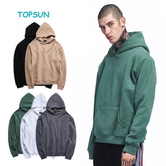 2019 High Quality Blank Hoodie Custom Gym Sweatshsirt Cotton Hoodies
