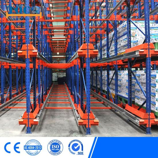 Ce Approved Pallet Satallite Storage Warehouse Rack for Auto Parts