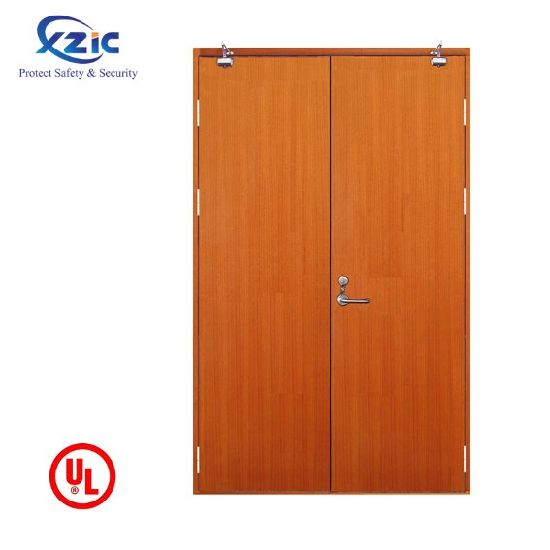 UL and Australia Certified High Quality Apartment PVC Painting Solid Wood Door pictures & photos