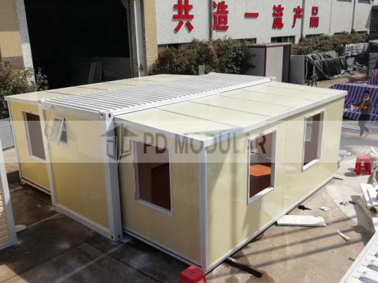 Wholesale 20FT Low Cost Modular Office Luxury Prefabricated Container House