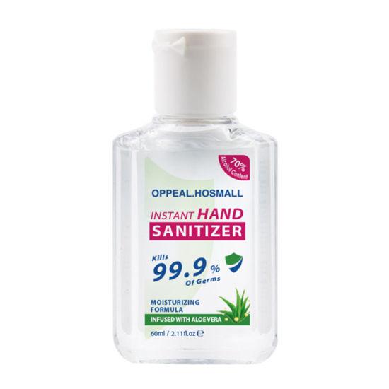 Wholesale Pocket Mini Travel Size Alcohol Portable Instant Liquid Waterless Bulk Gel Hand Sanitizer-2oz